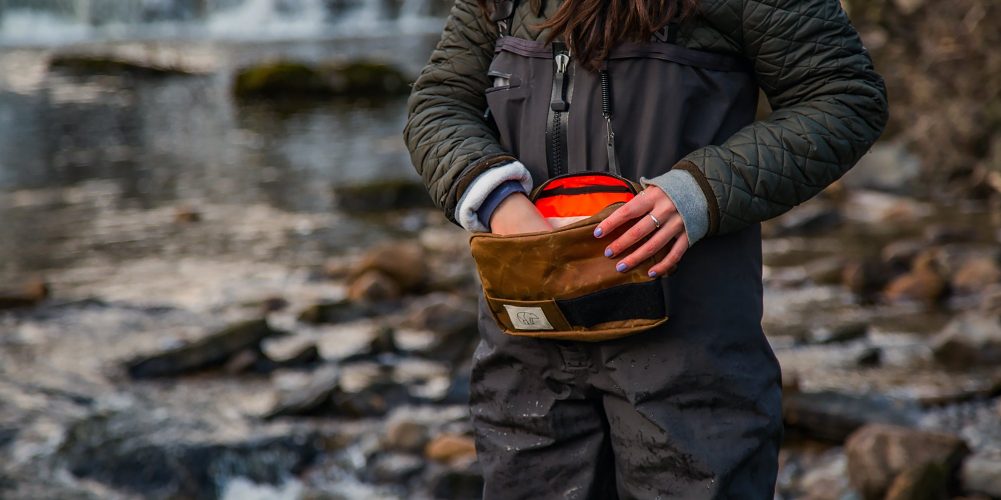 fly fishing bags made in England