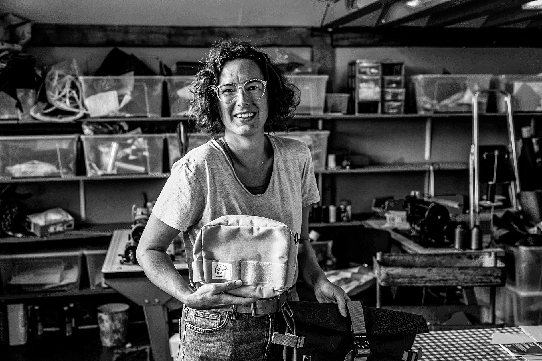 Amy bag maker in England