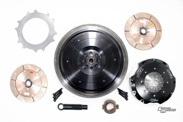 Clutch Masters 17-18 Honda Civic Type R 6 Speed FX725 Ceramic Twin-Disc Race Clutch Kit 08520-TD7R-S