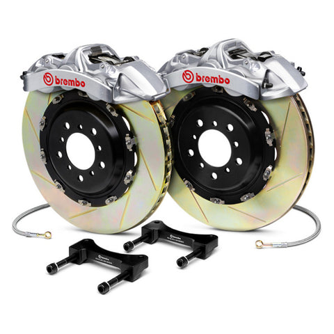 Brembo Gran Turismo 6-Piston Big Brake Kit - FRONT - Nissan GT-R - 2009-2015 - 1N1.9533AR