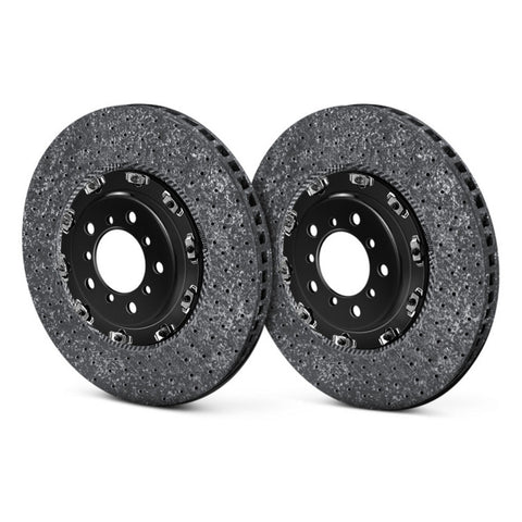 Brembo GT Series Cross Drilled 2-Piece Rotors - REAR - Nissan GT-R - 2009-2015 - 209.9004A