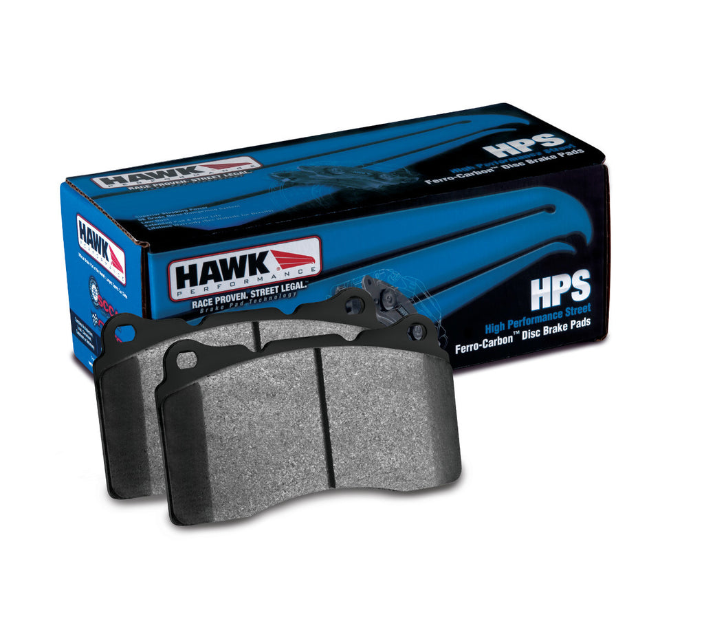 Hawk HPS Brake Pads - CL/ILX/TSX/RSX/TL/Accord/Civic/Prelude/CR-V/S2000/CR-Z - REAR - 1990-2014 - HB145F.570 - HPTautosport
