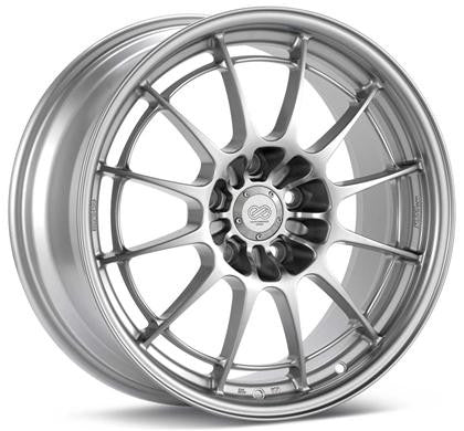 Enkei NT03+M Wheels - 17x7.5 4x100 40mm Offset 72.6mm Bore - Silver - 3657754940SP