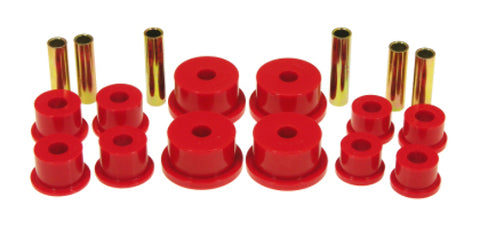 Prothane 84-99 Jeep Cherokee / Commander Spring & Shackle Bushings - Red