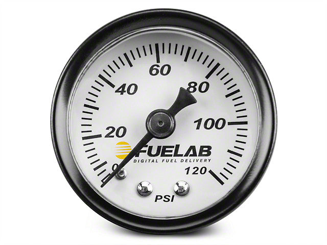 Fuelab Analog Fuel Pressure Gauges 71501 - HPTautosport