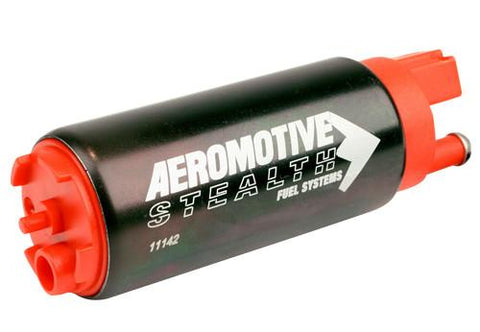 AEROMOTIVE 11542 340 STEALTH INLINE INLET INLINE PUMP -Fast & Free Shipping!!!