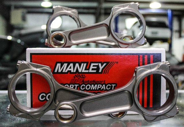 Manley I Beam Turbo Tuff Connecting Rods for Acura TSX ELEMENT CRV k24 - 14405-4