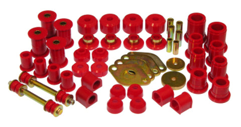 Prothane 89-94 Toyota Truck 4wd Total Kit - Red