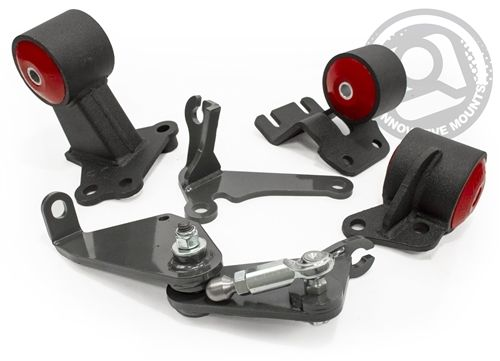 Innovative Mounts 90-91 Integra/92-93 GSR Convert Mount Kit; B Series for at Chasis  49355-60A