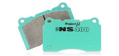 Project Mu 04-09 STi / 03-05 G35 w/ Brembo TYPE NS400 Rear Brake Pads pmPS4R906 - HPTautosport