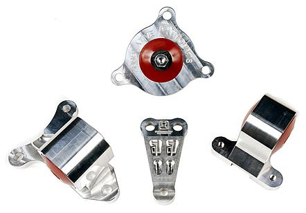 Innovative Mounts Acura RSX DC5/EP3 Innovative Billet Aluminum Motor Mount Kit B90650-60A