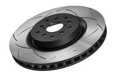 DBA 02-10 Subaru WRX Front Slotted Street Series Rotor 650S