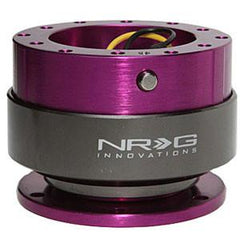 NRG Innovations Generation 2 Purple Body/PURPLE Ring Quick Release Kit SRK-200PP
