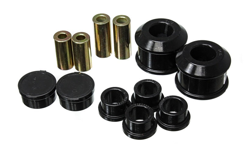 Energy Suspension 06-11 Honda Civic Black Front Control Arm Bushing Set - 16.3122G