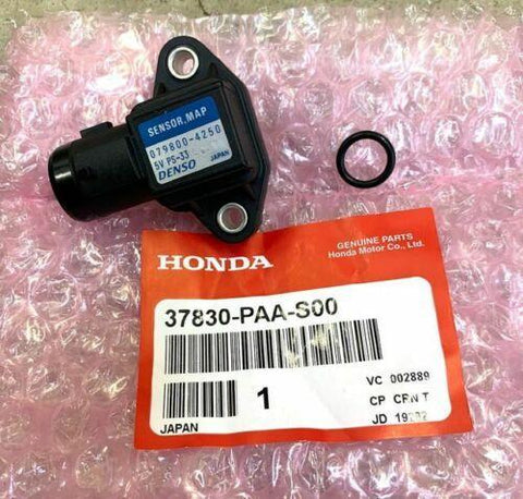 Genuine Honda Map Sensor W/ O-ring B16 B18 D16 H22 - 37830-PAA-S00