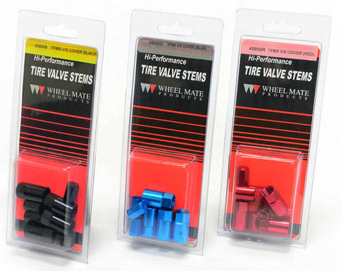 Copy of Wheel Mate Aluminum TPMS Valve Stem Cover - Blue Anodized 45930U