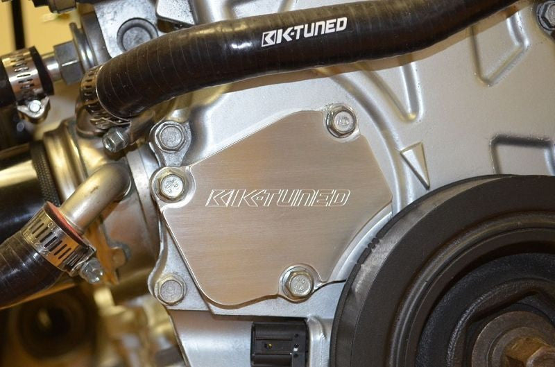 K-Tuned Tensioner Cover K20 K24 RSX Civic TSX KTD-TEN-COV - HPTautosport