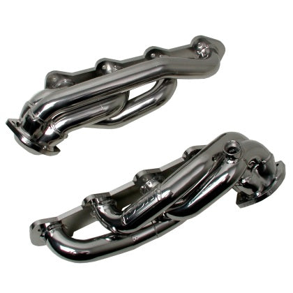 BBK Truck 5.4 Shorty Tuned Length Exhaust Headers - 1-5/8 Chrome for 99-03 Ford F Series