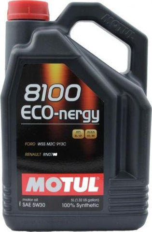 Motul 8100 5W30 Eco-Nergy Engine Oil (5 Liter) 102898
