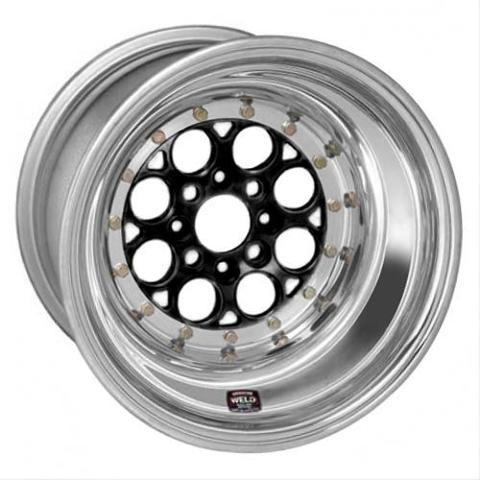 Weld Racing Magnum Import Drag Black Anodized Wheels 768B-31015