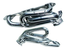 BBK 5.7 Shorty Tuned Length Exhaust Headers - 1-5/8 Chrome for 96-98 GM Truck SUV 5.0
