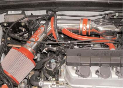 Injen 01-04 Civic Dx Lx Ex Hx Polished Short Ram Intake IS1565P