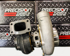 Precision Turbo 6262 Billet CEA Journal Bearing 705HP T3 Vband .82 A/R SP Cover - HPTautosport