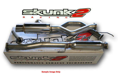 SKUNK2 MegaPower RR 76mm Exhaust Catback 92-95 Honda Civic Hatchback EG 413-05-6010 - HPTautosport