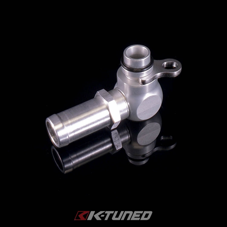 K-Tuned Power Steering Low Pressure Inlet Fitting 02-06 RSX KTD-PSP-ILF