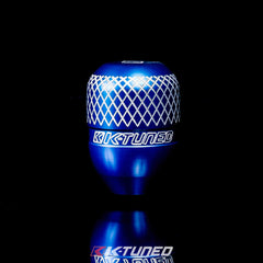K Tuned Billet Function Form Shift Knob Blue KTD-SFT-KNBL - HPTautosport