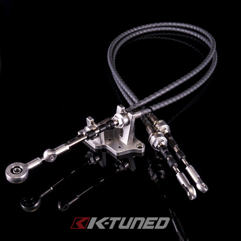 K-Tuned  Race-Spec Shifter Cables  K24Z7 Trans w/RSX-S Selector and Shifter RZ7-SFT-CAB