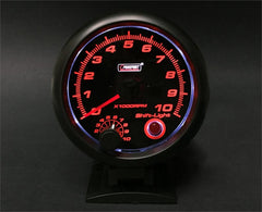 "ProSport Tachometer with built in shift light 3 3/4""- 343SARTA-B"