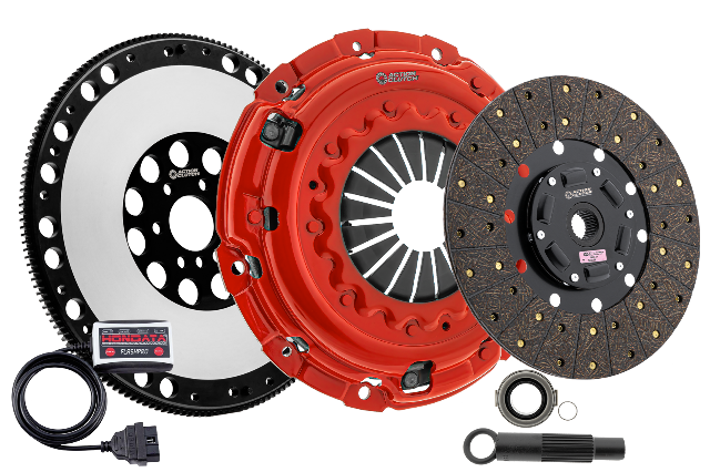 Stage 1 Clutch Kit w/HD Pressure Plate+Bearing Kit for 04-08 Acura TSX