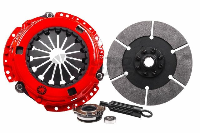 IRONMAN Clutch Kit w/ Dual HD P Plate+Bearing Kit for 90-02 Honda Accord
