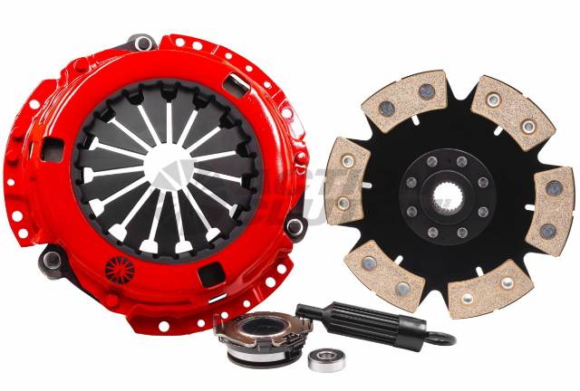 Stage 4 Clutch Kit w/ HD Pressure Plate+Bearing Kit for 89-89 Honda Civic