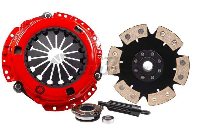 Stage 6 Clutch Kit w/Dual HD Pressure Plate+Bearing Kit for 02-05 Honda Civic Si