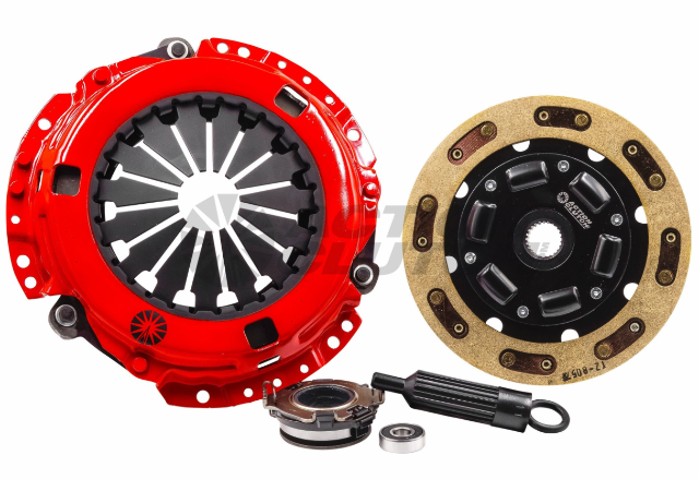 Stage 2 Clutch Kit w/ HD Pressure Plate+Bearing Kit for 09-11 Honda Fit