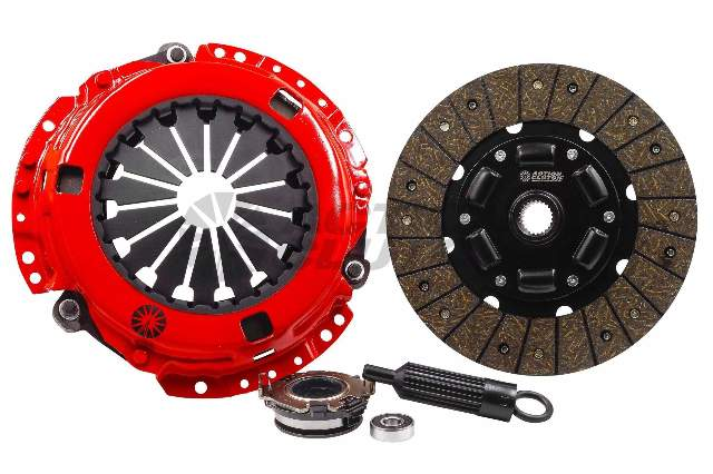 Stage 1 Clutch Kit w/ HD Pressure Plate+Bearing Kit for 16-18 Honda Civic