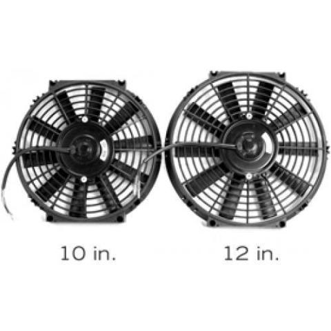 BLOX Racing 10inch Electric Slim Fan - Black BXCC-00001-BK