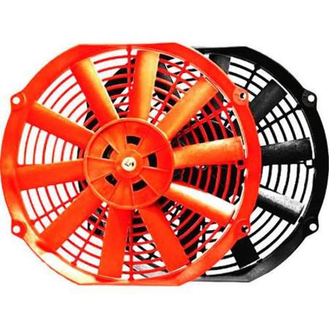 BLOX Racing 10inch Electric Slim Fan - Red BXCC-00001-RD