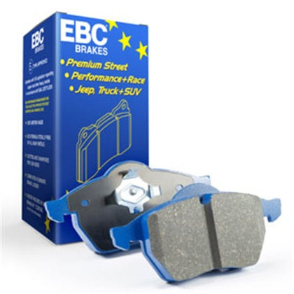 EBC 3.8 Twin Turbo (Cast Iron Rotors)  Bluestuff Front Brake Pads for 08-11 Nissan GT-R (R35)
