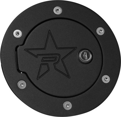 RBP RX-2 Locking Fuel Door for 96-03 F-150 / 99-10 F-250/350 Super Duty / 98-13 Lincoln Navigtr. - Black