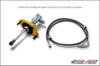 AMS Performance Clutch Master Cylinder Conversion w/Master Cylinder for 08-15 Mitsubishi EVO X