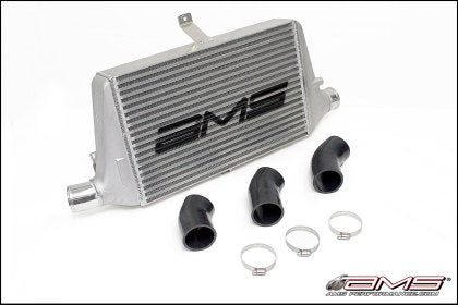 AMS Performance Front Mount Intercooler w/Logo for 03-07 Misubishi EVO VIII/IX