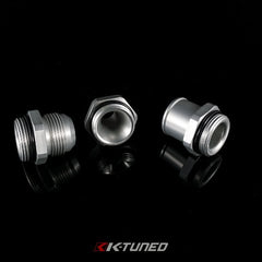 K-Tuned Silver 12AN to 16OR Adapter (w/o ring)(Upper Coolant Housing & Ther Fit)