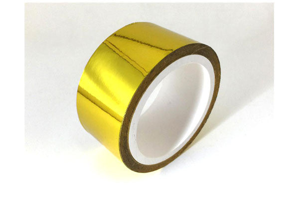 ProSport Gold Reflective Heat Tape 2in x 15ft Roll HEA-GWRAP-15 - HPTautosport