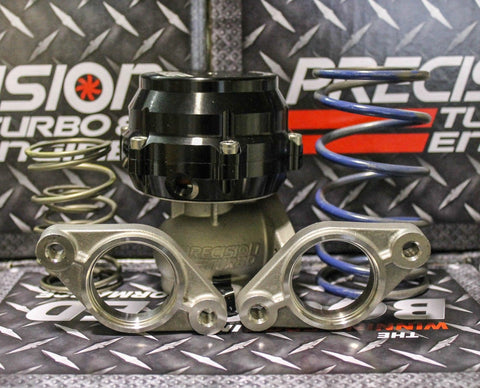 Precision Turbo 39mm Wastegate PW39  w/ 5 Springs + Flanges Compatible with Tial 38mm F38 PBO085-1000