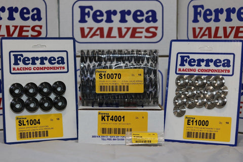 Ferrea 80LBS Dual Valvesprings, Keepers & Ti Retainers Honda B18C B16A1 KT4001