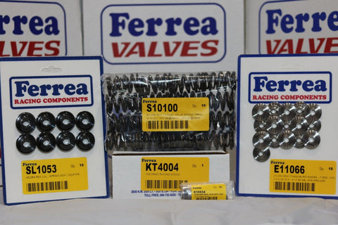 Ferrea Drag Dual Valve Spring Kit w/ Springs, Retainers & Keepers K20 KT4004