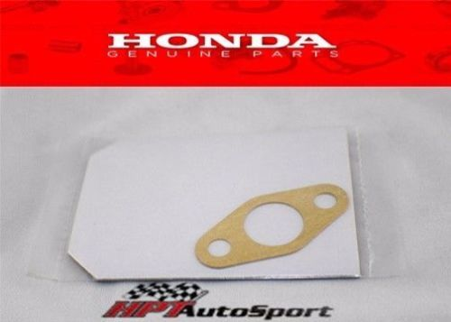 HONDA OEM B16A2 B18C1 B18C5 B20 GSR SI TYPE R OIL PUMP STRAINER PICK UP  GASKET